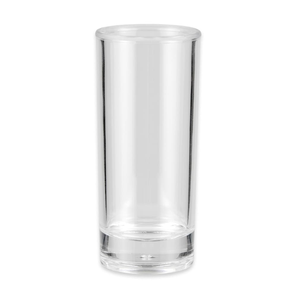 GET SW-1408-1-CL 3-oz Shooter Glass, SAN Plastic, Clear