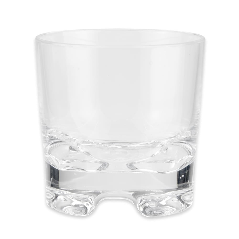 GET SW-1423-1-SAN-CL 9-oz Rocks Glass, SAN Plastic, Clear