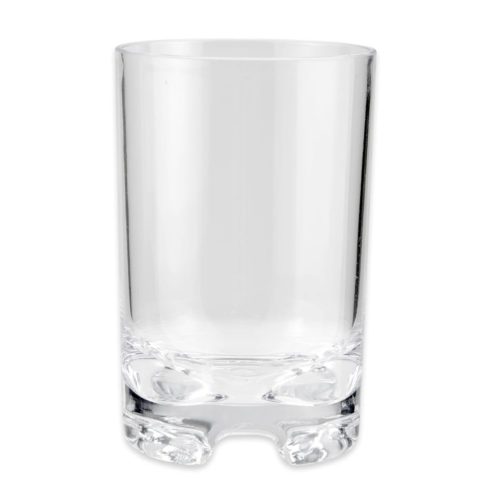 GET SW-1424-1-SAN-CL 12-oz Rocks Glass, SAN Plastic, Clear
