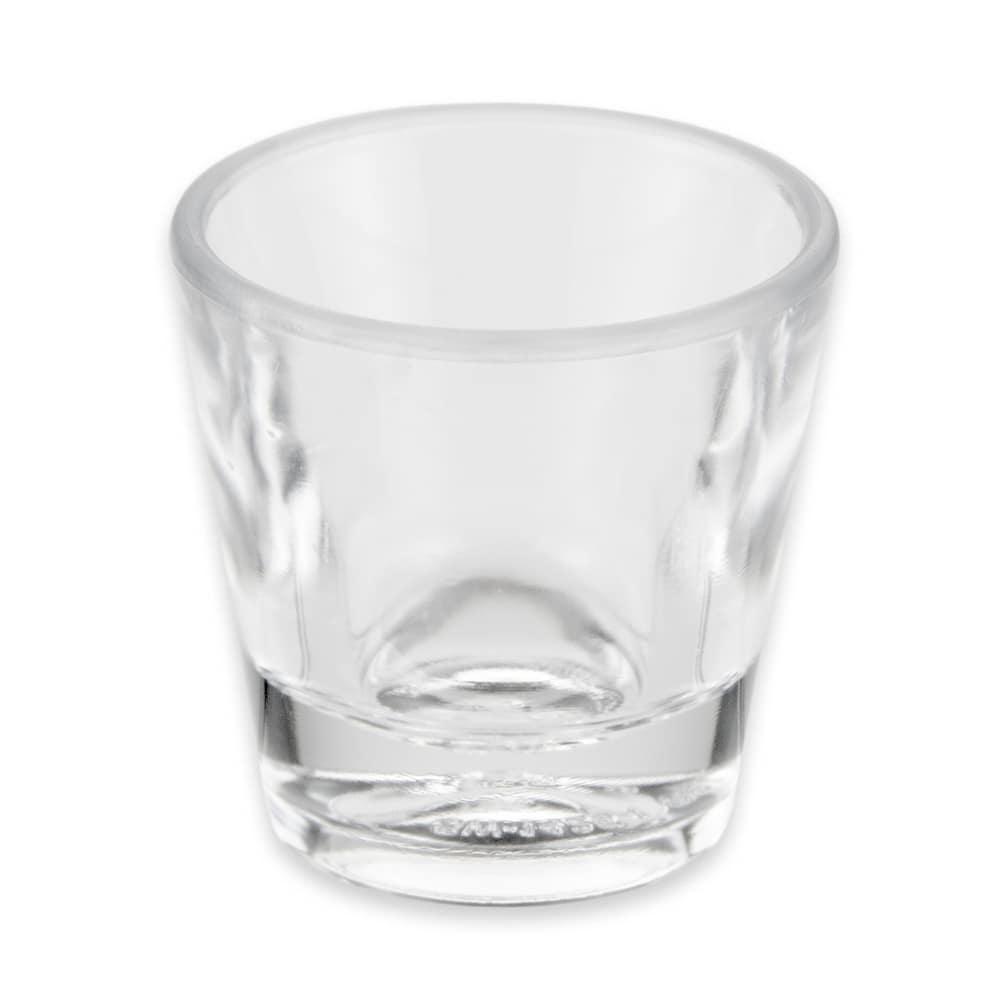 GET SW-1425-1-CL 1 oz Shot Glass, SAN Plastic, Clear