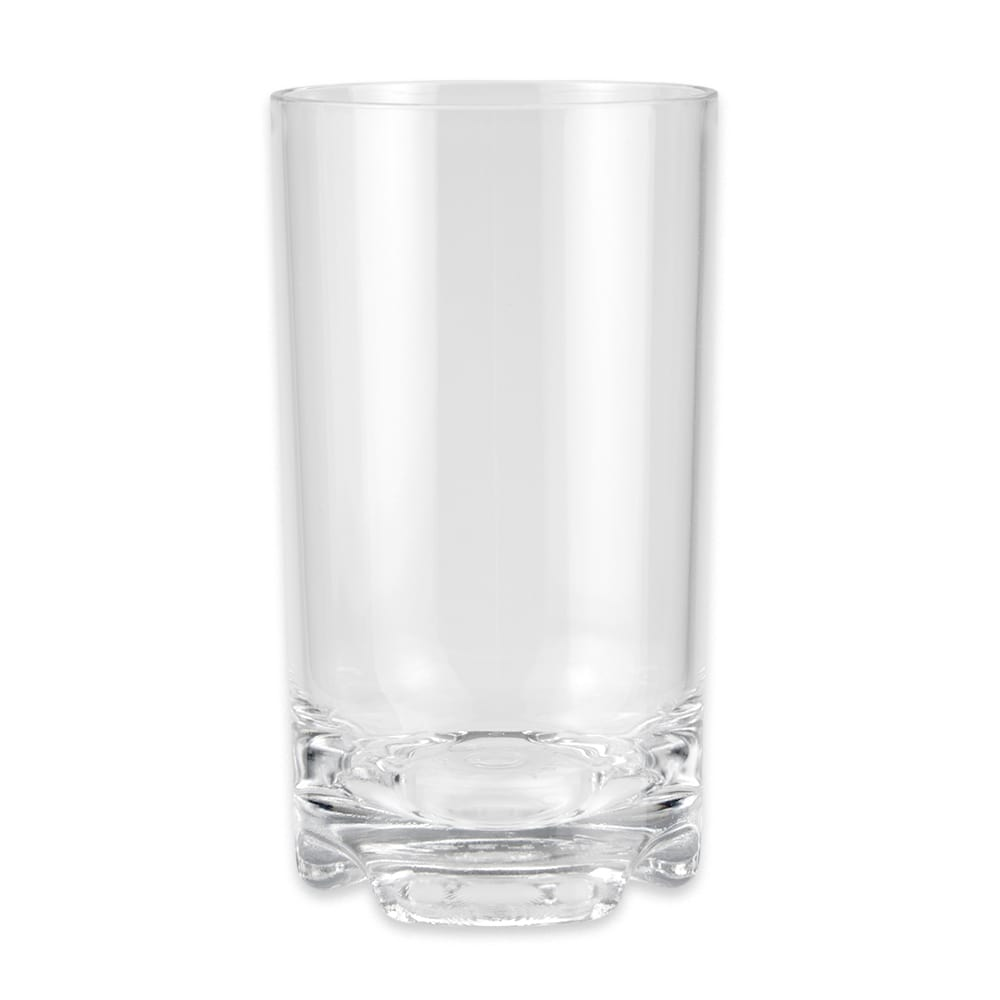 GET SW-1426-1-SAN-CL 14 oz Beverage Glass, Plastic, Clear