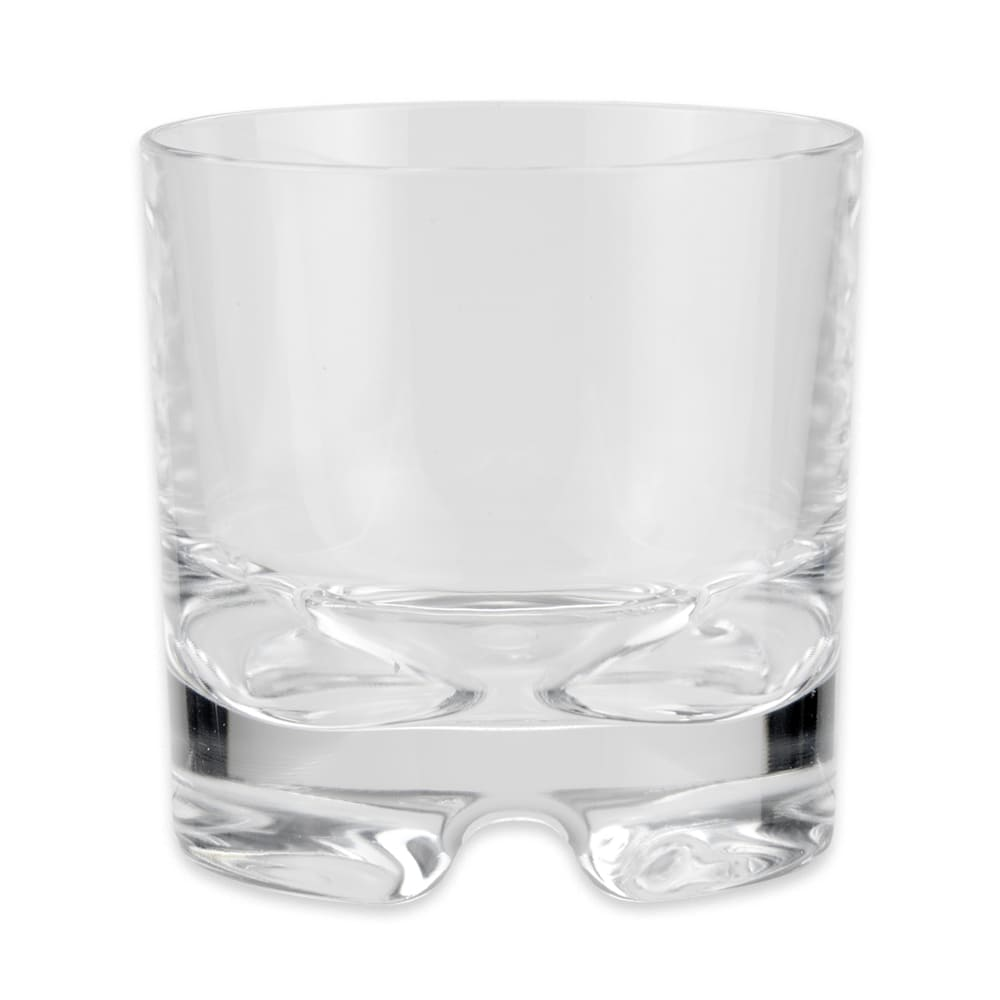 GET SW-1429-1-SAN-CL 10 oz Rocks Glass, SAN Plastic, Clear