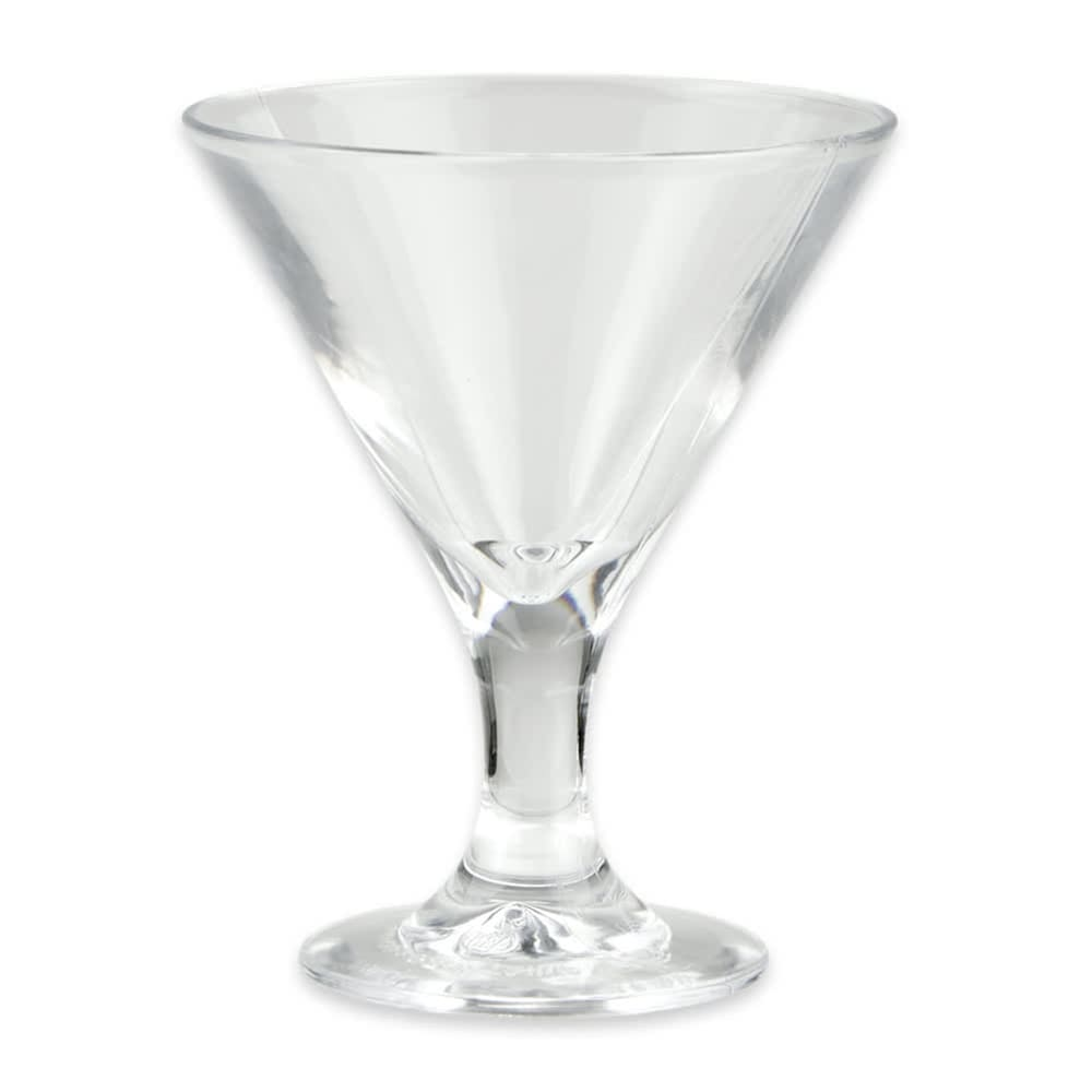 GET SW-1430-1-CL 3 oz Martini Glass, SAN Plastic, Clear