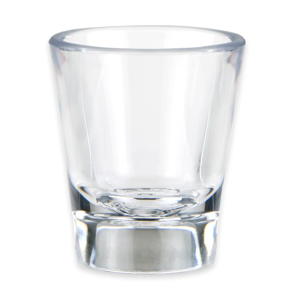 GET SW-1433-1-CL .87-oz Shot Glass, SAN Plastic, Clear