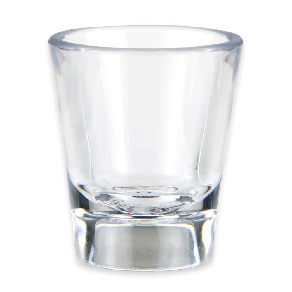 GET SW-1433-1-CL .87-oz Shot Glass, Plastic, Clear