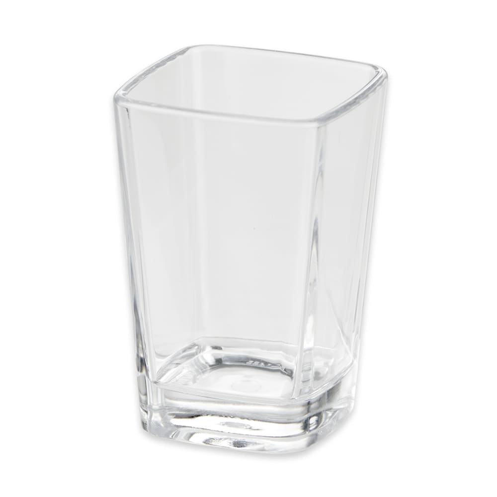 GET SW-1435-CL 3 oz Shot Glass, SAN Plastic, Clear