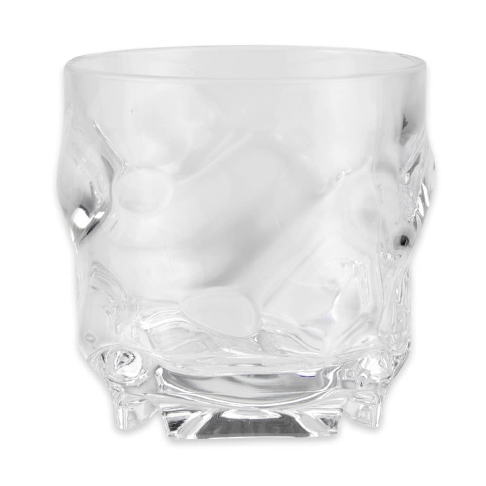 GET SW-1439-1-CL 9-oz Rocks Glass, SAN Plastic, Clear