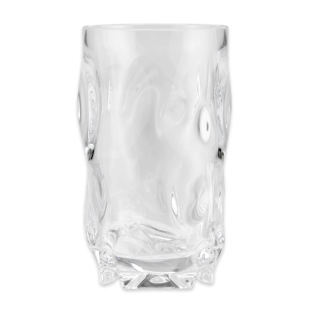 GET SW-1442-1-CL 16 oz Beverage Glass, Plastic, Clear