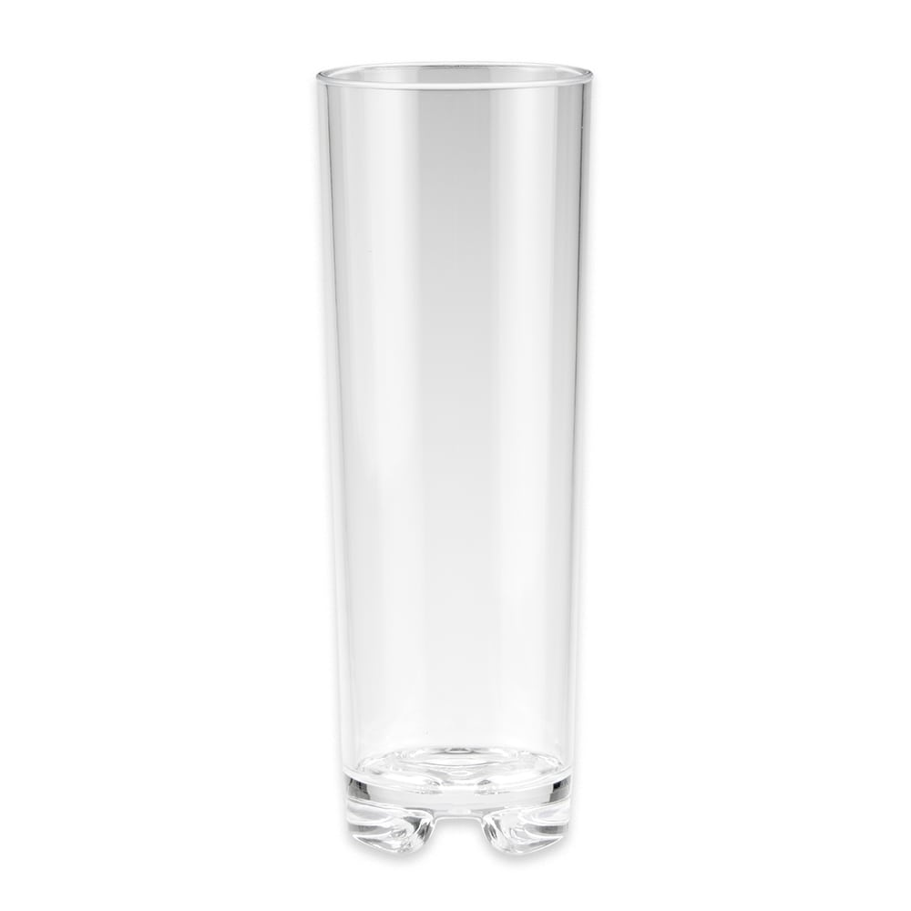 GET SW-1444-1-CL 12 oz Beverage Glass, Plastic, Clear