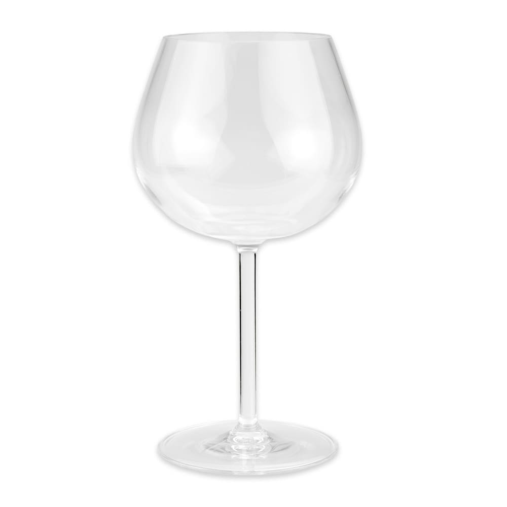 GET SW-1447-TRITAN-CL 20-oz Balloon Wine Glass, Tritan Plastic, Clear
