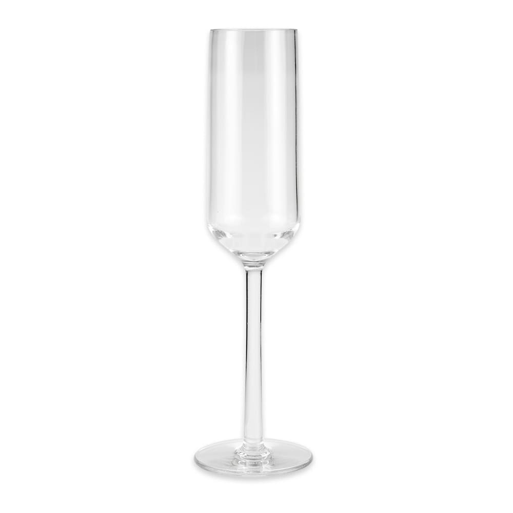GET SW-1462-PC-CL 6-oz Champagne Glass, Plastic, Clear