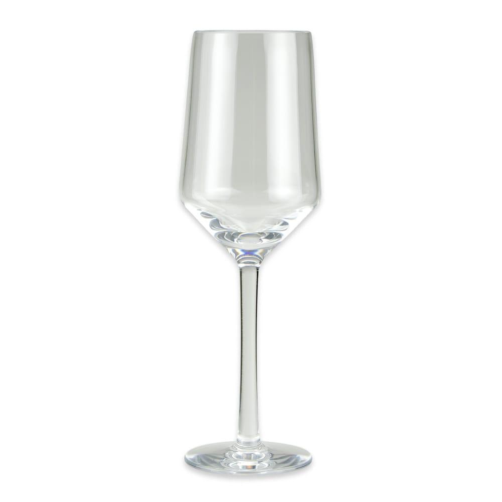 GET SW-1463-CL 10-oz Wine Glass, Plastic, Clear
