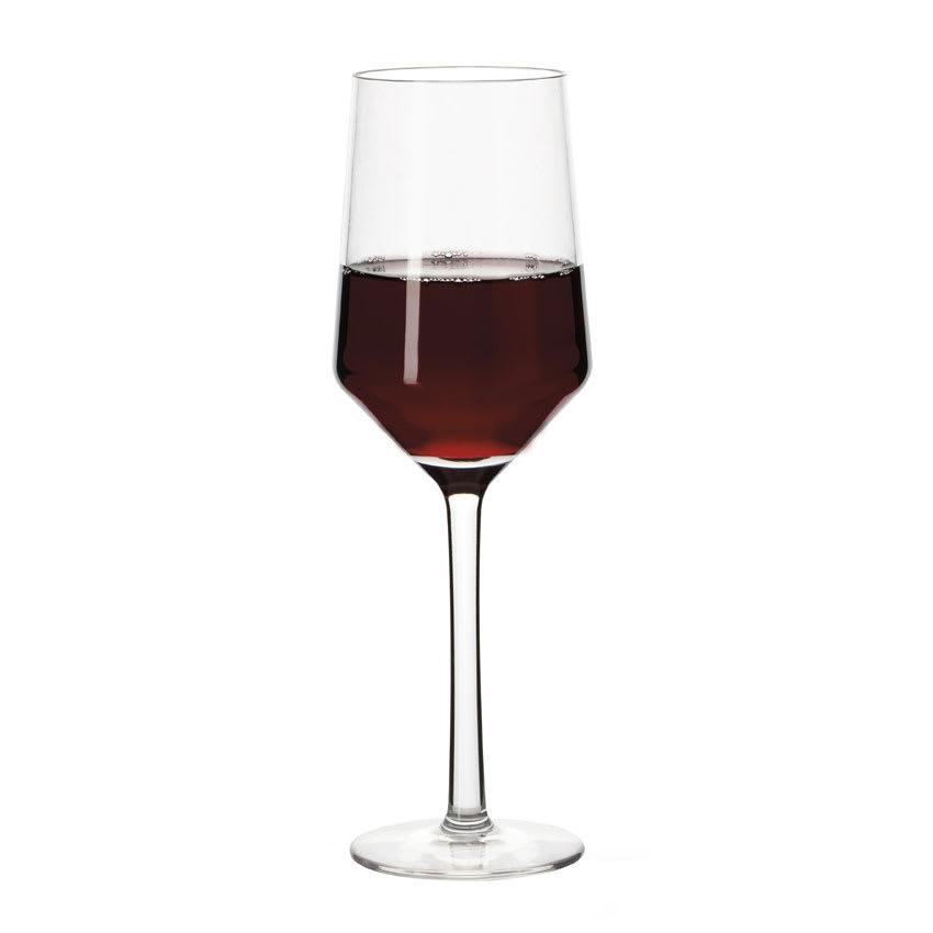GET SW-1463-PC-CL 10-oz Wine Glass, Plastic, Clear