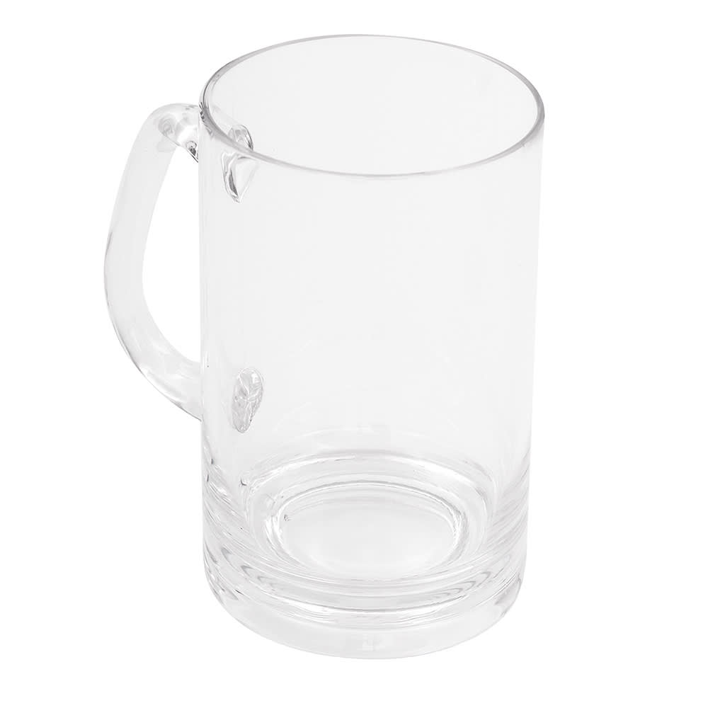 GET SW-1464-CL 20 oz Beer Mug, Polycarbonate, Clear
