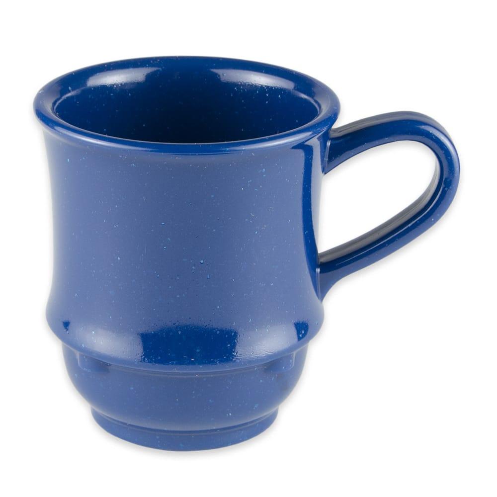 GET TM-1208-TB 8 oz Coffee Mug, Plastic, Blue