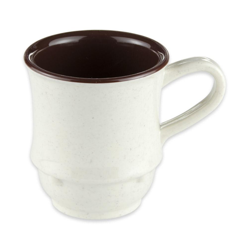 GET TM-1208-U 8 oz Coffee Mug, Plastic, White