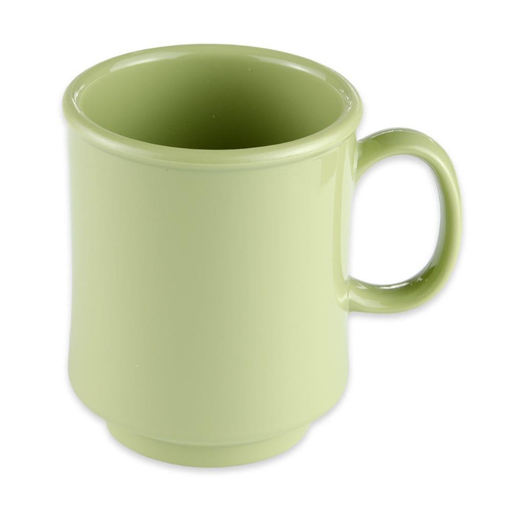 GET TM-1308-AV 8-oz Coffee Mug, Plastic, Avocado