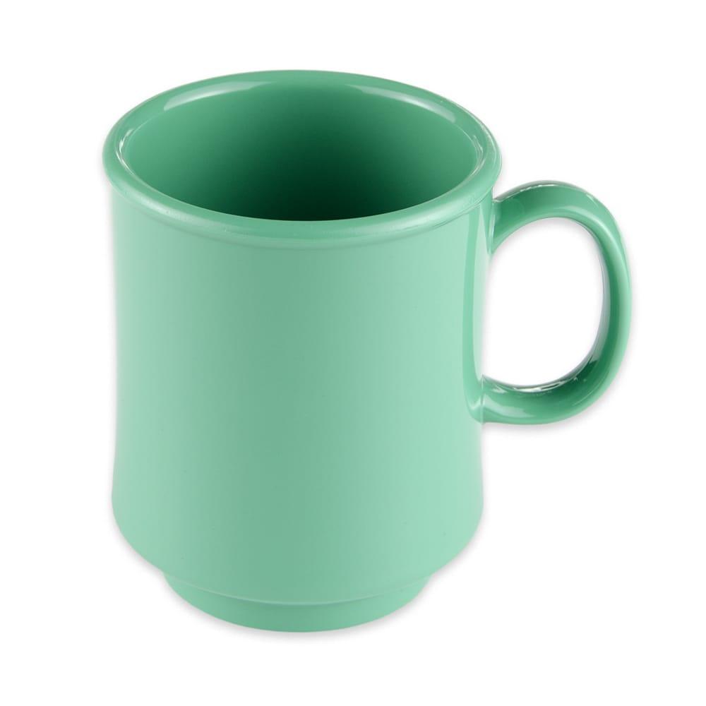 GET TM-1308-FG 8-oz Coffee Mug, Plastic, Green