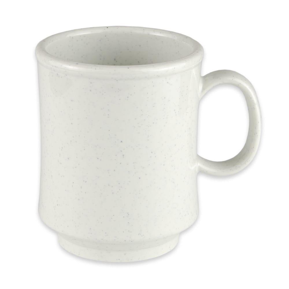 GET TM-1308-IR 8-oz Coffee Mug, Plastic, White