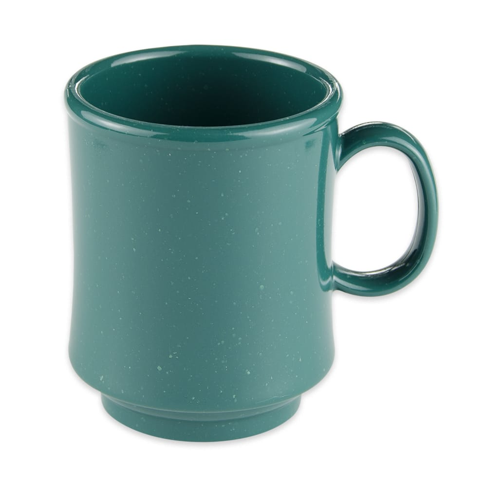 GET TM-1308-KG 8-oz Coffee Mug, Plastic, Green