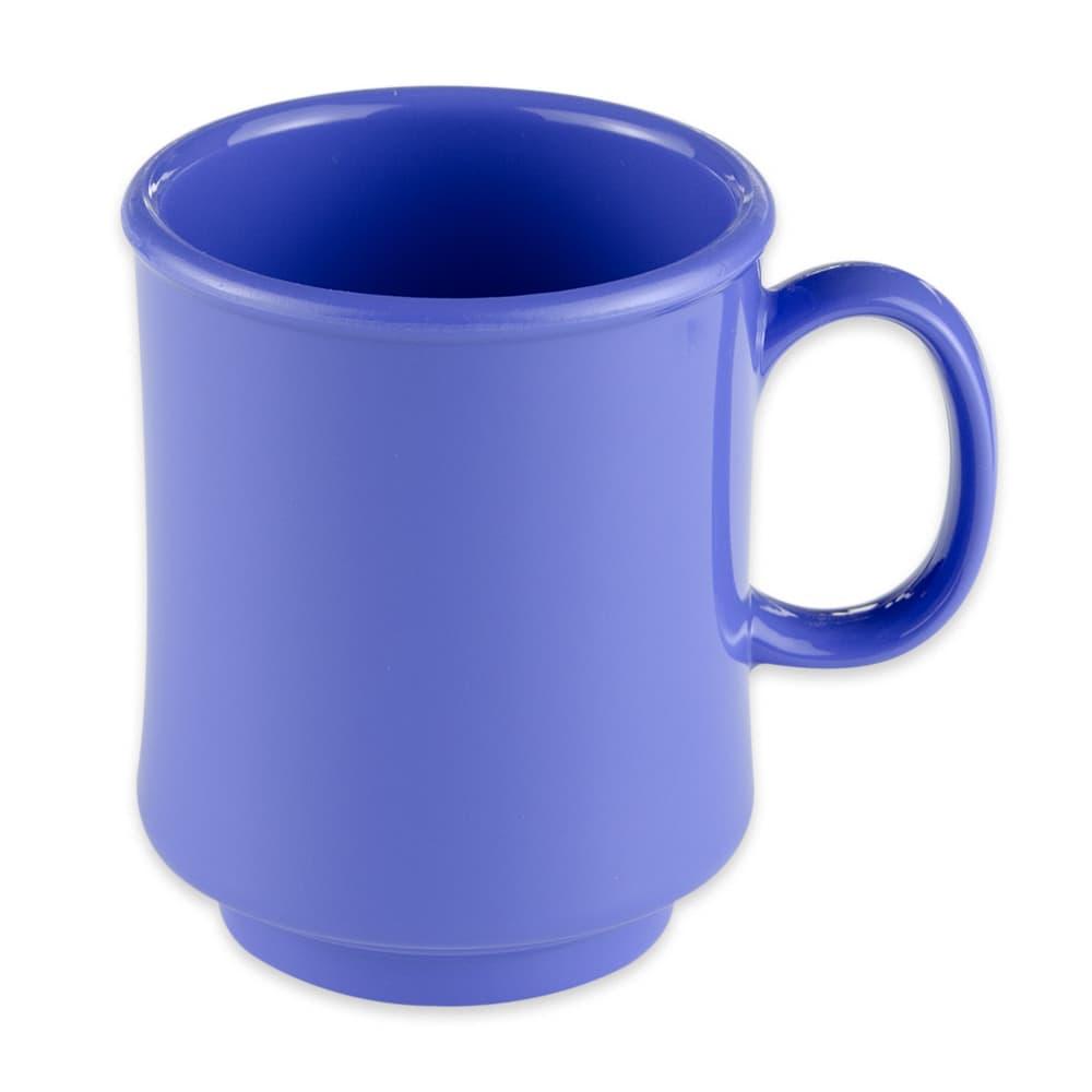 GET TM-1308-PB 8-oz Coffee Mug, Plastic, Blue