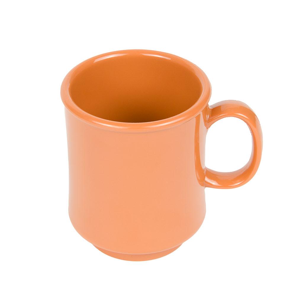 GET TM-1308-PK 8-oz Coffee Mug, Plastic, Orange