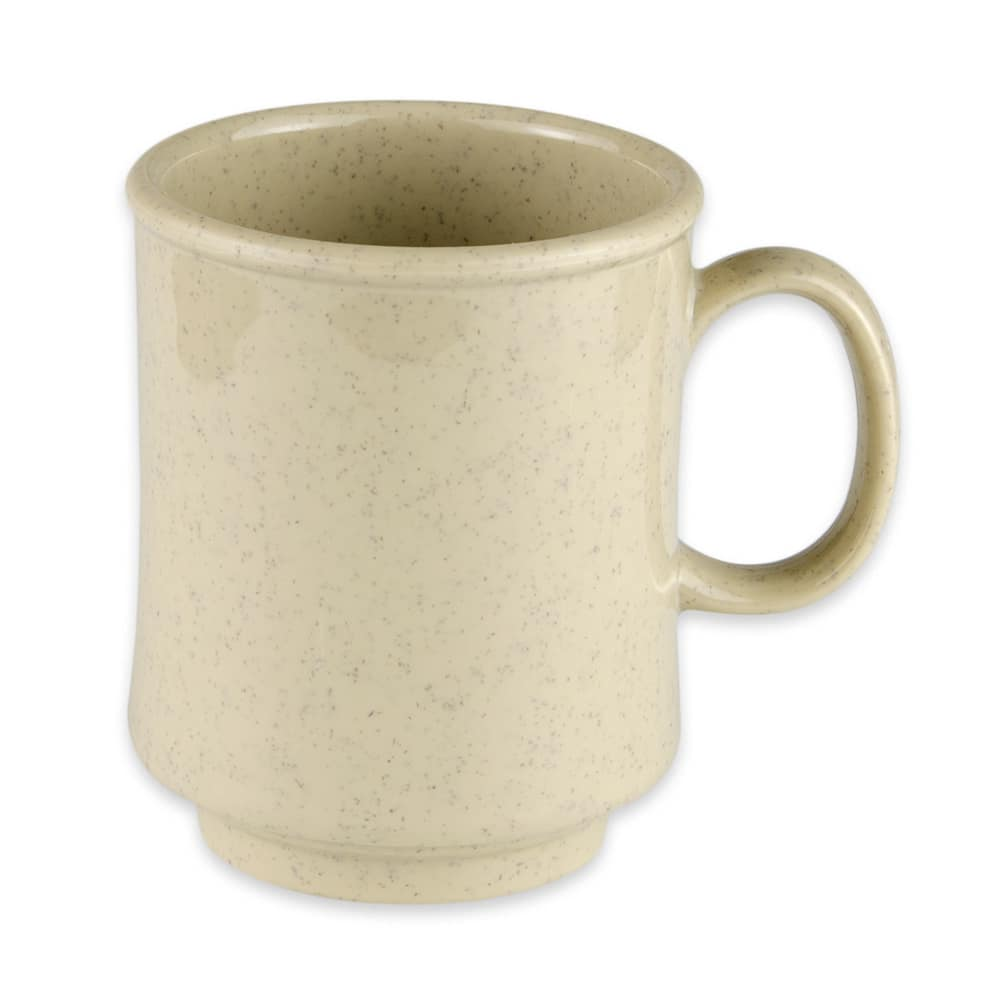 GET TM-1308-S 8 oz Coffee Mug, Plastic, Sandstone