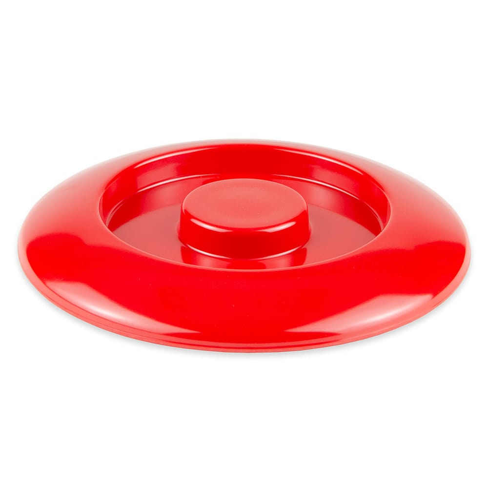 "GET TS-800-L-R 7.75"" Round Tortilla Server Lid Only, Melamine, Red"