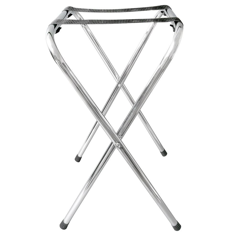 "GET TSC-101 30.5""H Tray Stand, Chrome"