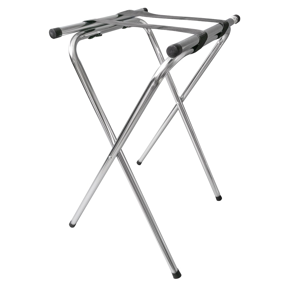 "GET TSC-102 32""H Tray Stand, Chrome"