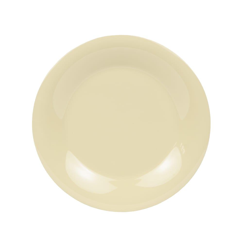 "GET WP-12-SQ 12"" Round Dinner Plate, Melamine, Squash"