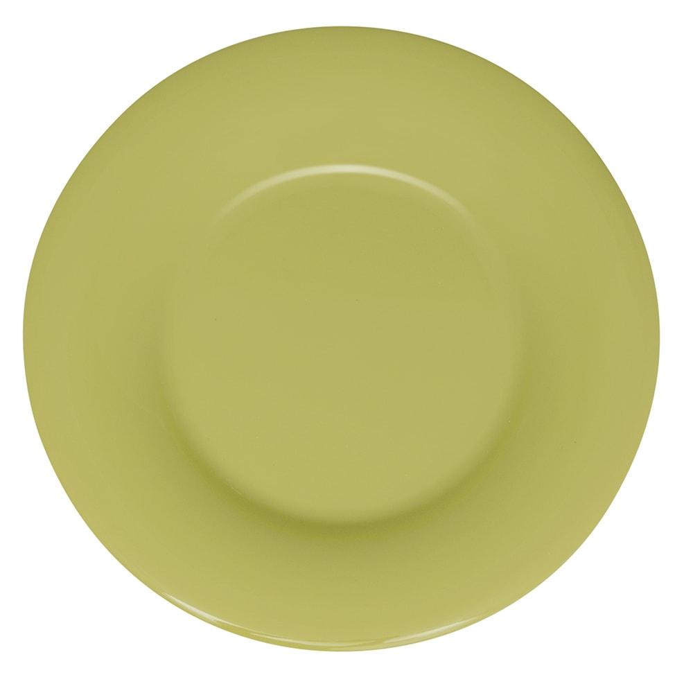 """GET WP-5-AV 5.5"""" Round Dessert Plate, Melamine, Avocado"""