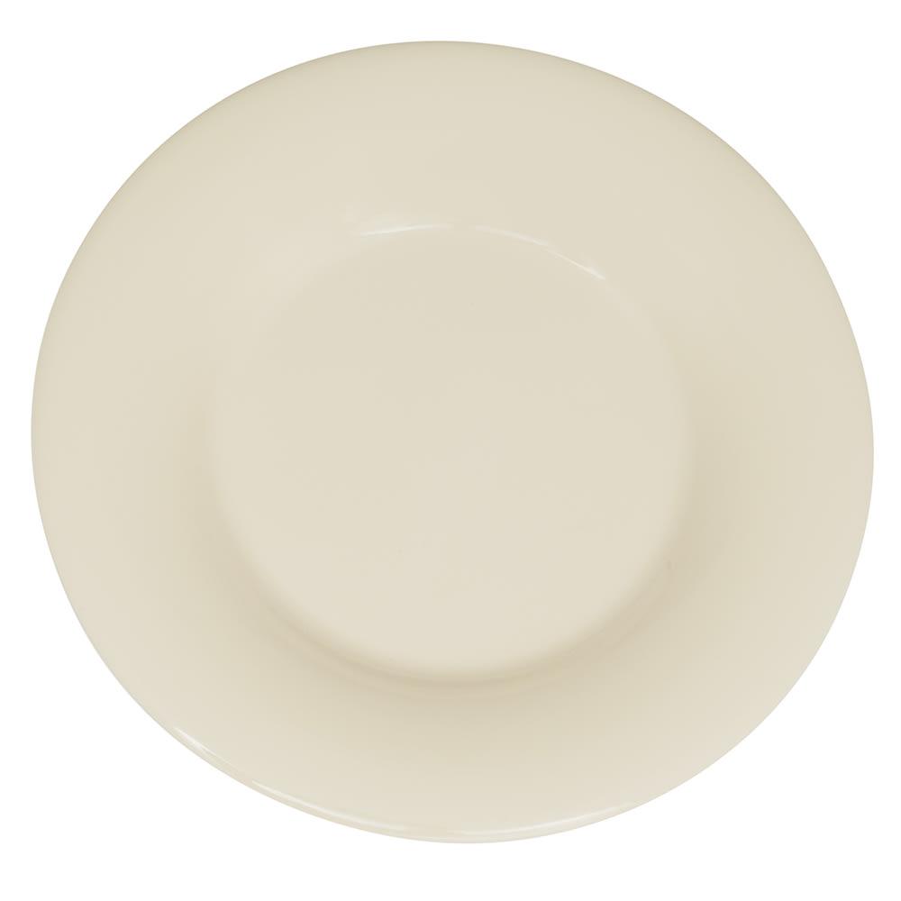 "GET WP-5-DI 5.5"" Round Dessert Plate, Melamine, Ivory"