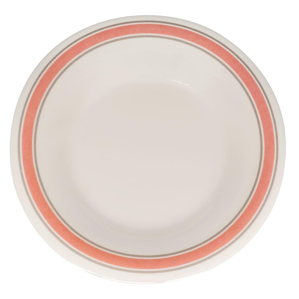 """GET WP-5-OX 5.5"""" Round Dessert Plate, Melamine, White"""