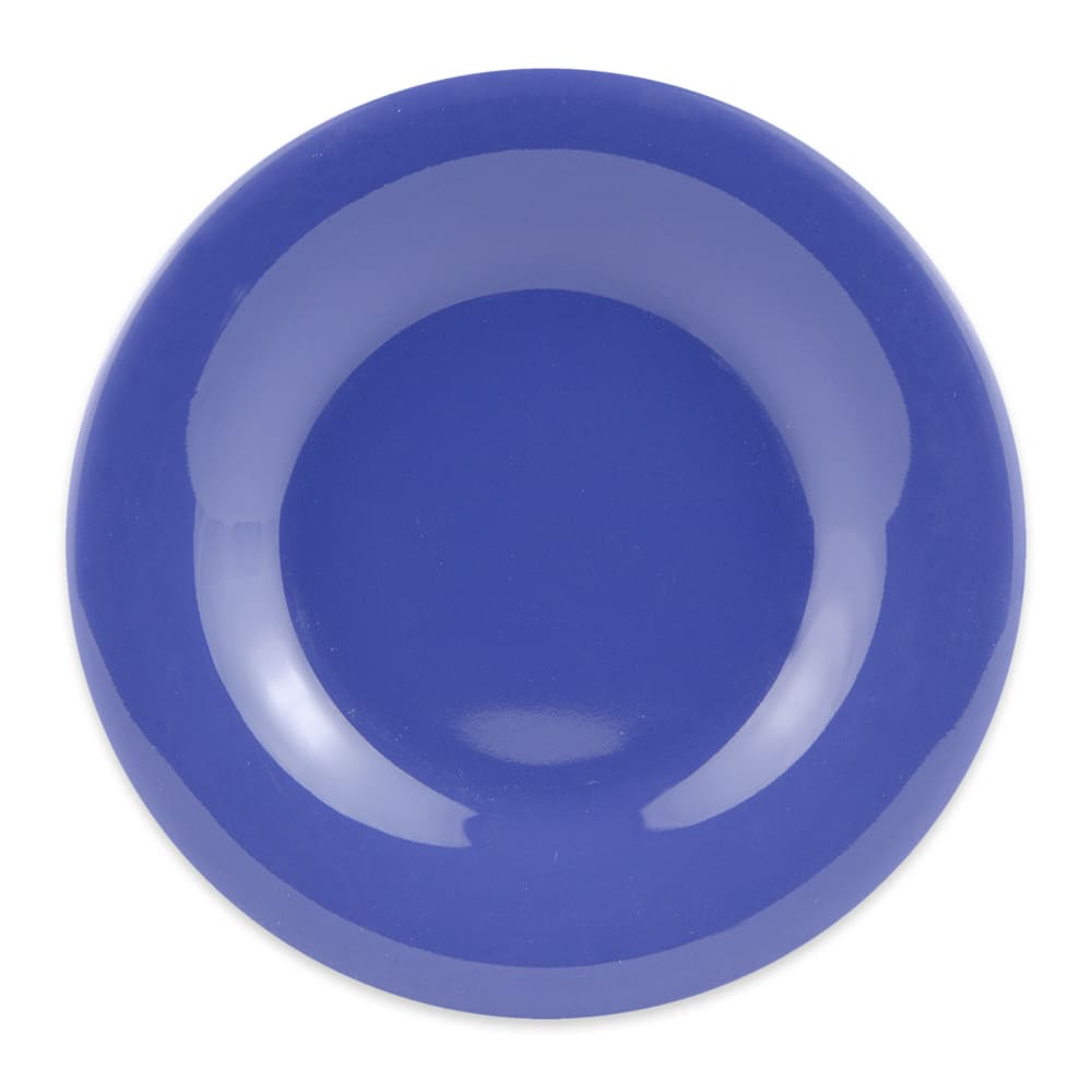 """GET WP-5-PB 5.5"""" Round Dessert Plate, Melamine, Blue"""