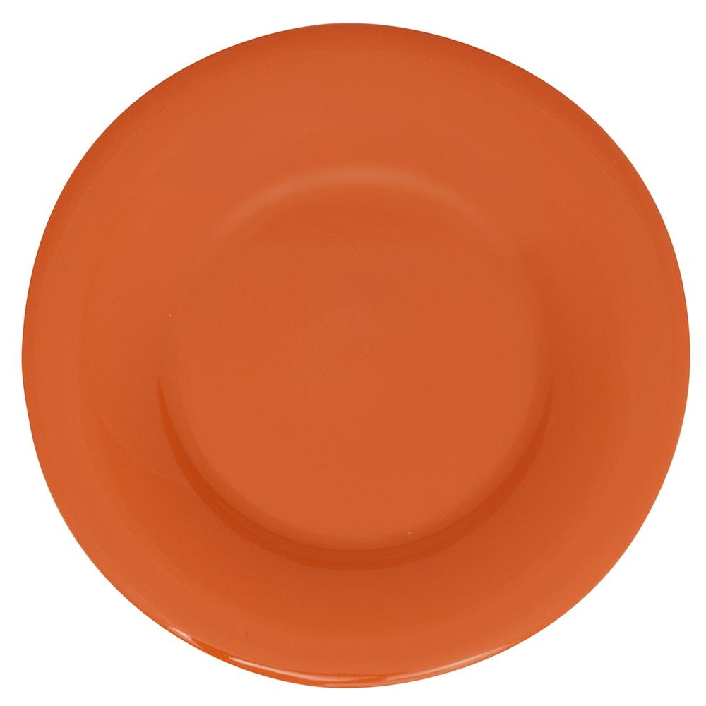 """GET WP-5-PK 5.5"""" Round Dessert Plate, Melamine, Pumpkin"""