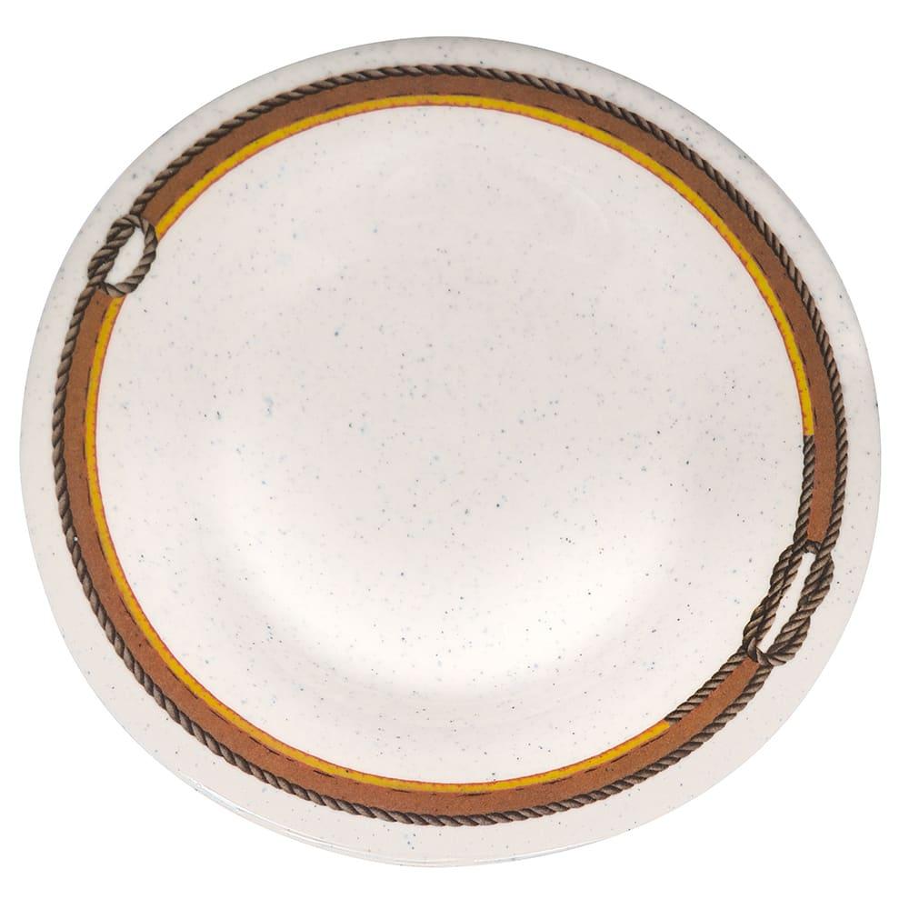"""GET WP-5-RD 5.5"""" Round Dessert Plate, Melamine, Brown"""
