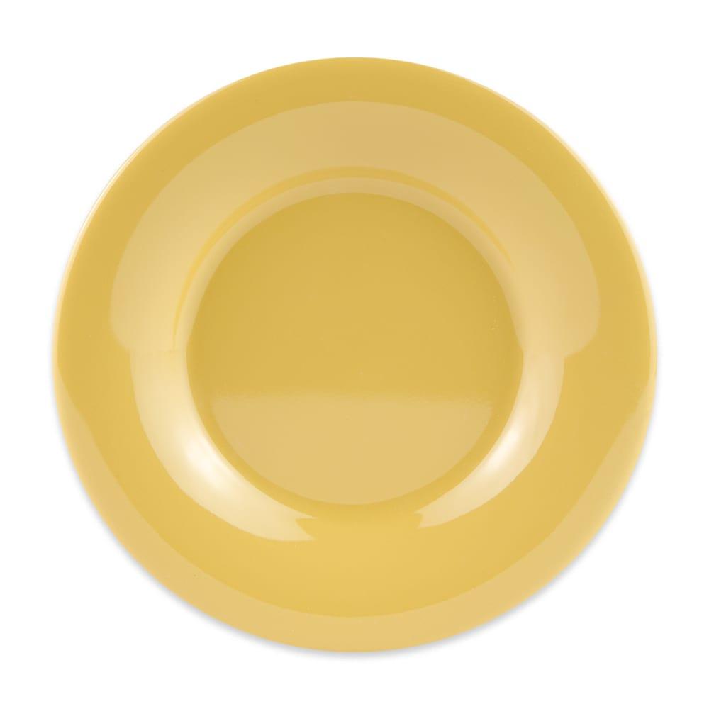 "GET WP-5-TY 5.5"" Round Dessert Plate, Melamine, Yellow"
