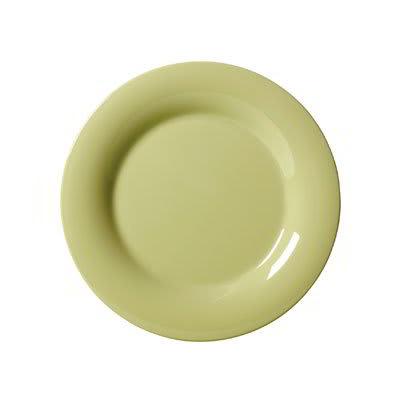 """GET WP-6-AV 6.5"""" Round Dessert Plate, Melamine, Avocado"""