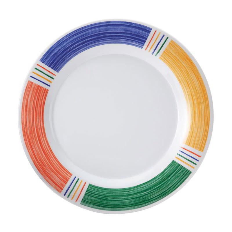 """GET WP-6-BA 6.5"""" Round Dessert Plate, Melamine, White"""