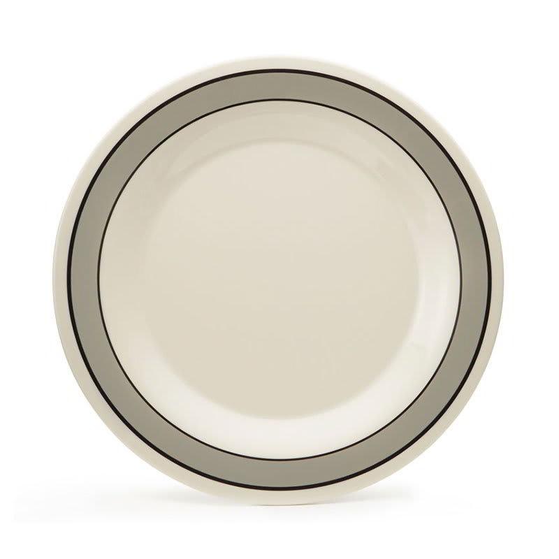 """GET WP-6-CA 6.5"""" Round Dessert Plate, Melamine, White"""