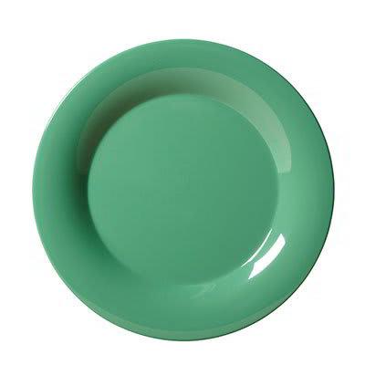 """GET WP-6-FG 6.5"""" Round Dessert Plate, Melamine, Green"""