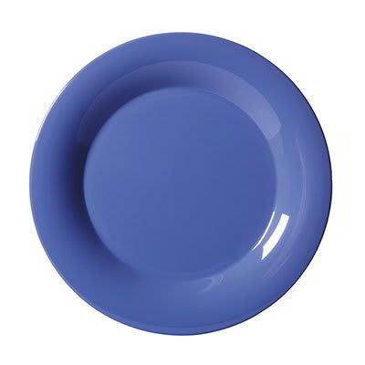 """GET WP-6-PB 6.5"""" Round Dessert Plate, Melamine, Blue"""