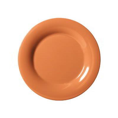 """GET WP-6-PK 6.5"""" Round Dessert Plate, Melamine, Pumpkin"""