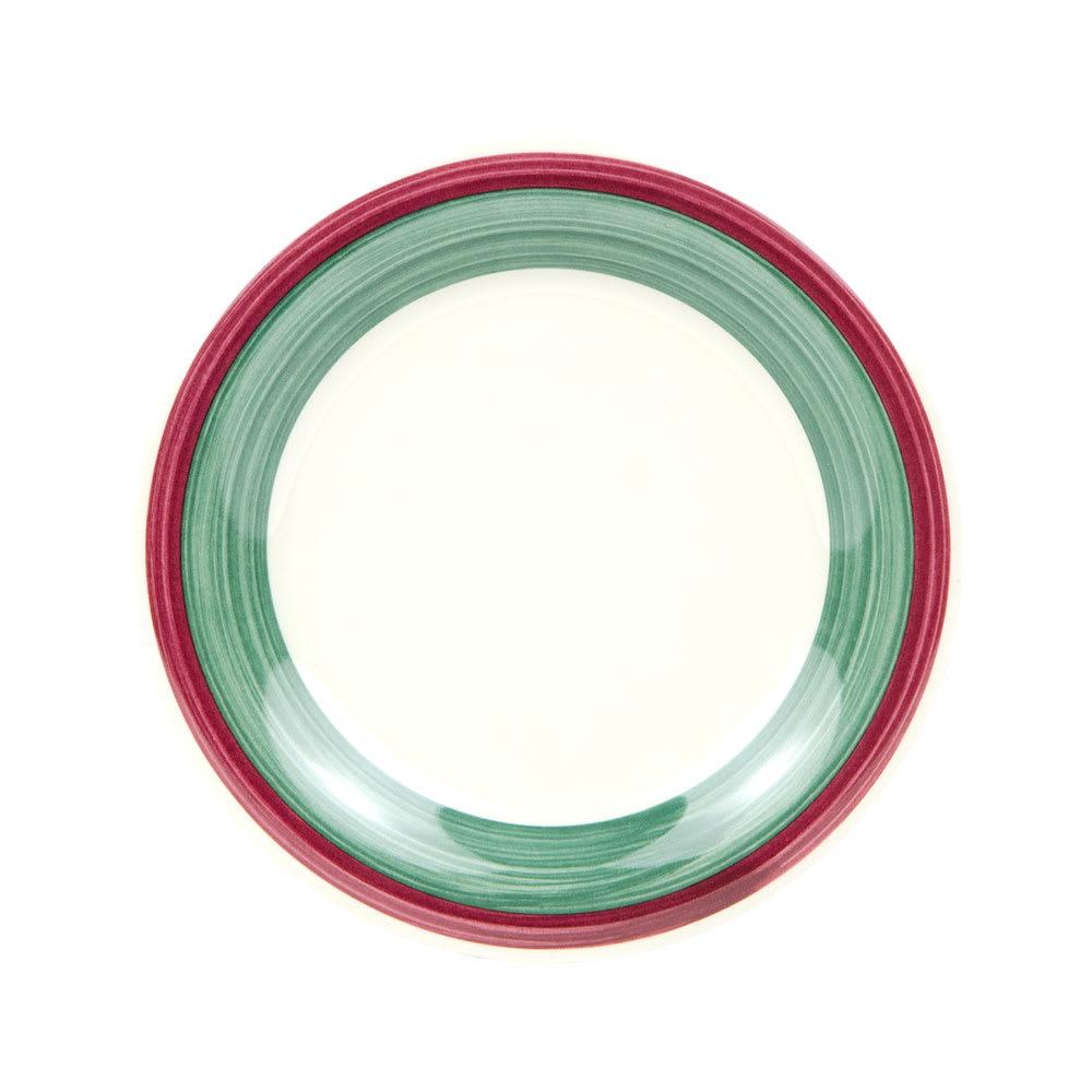 """GET WP-6-PO 6.5"""" Round Dessert Plate, Melamine, White"""