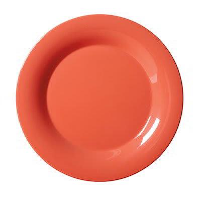 """GET WP-6-RO 6.5"""" Round Dessert Plate, Melamine, Orange"""