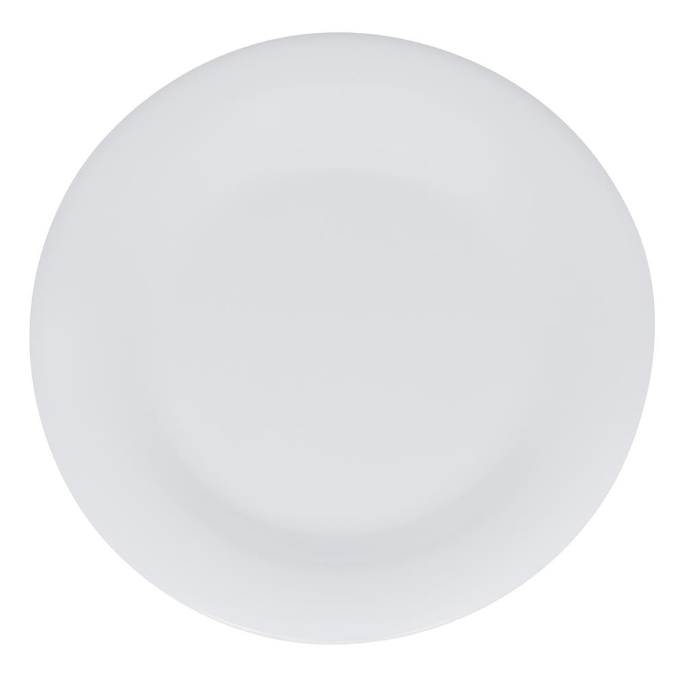 """GET WP-7-DW 7.5"""" Round Salad Plate, Melamine, White"""