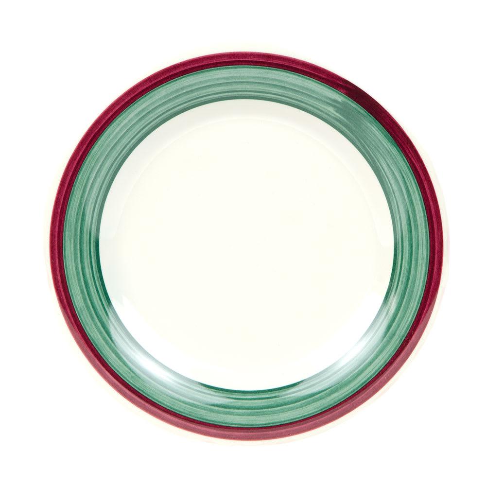 "GET WP-7-PO 7.5"" Round Salad Plate, Melamine, White"