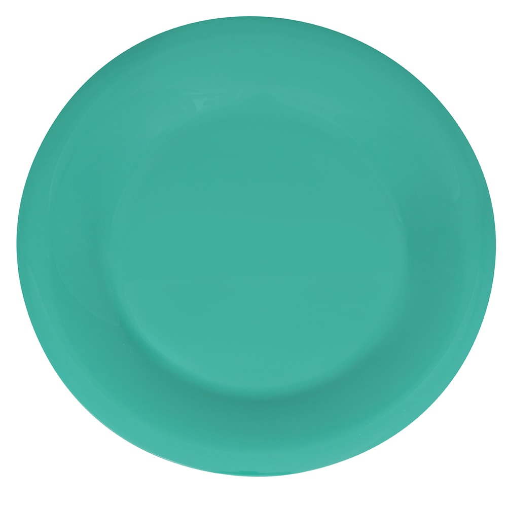 """GET WP-9-FG 9"""" Round Dinner Plate, Melamine, Green"""