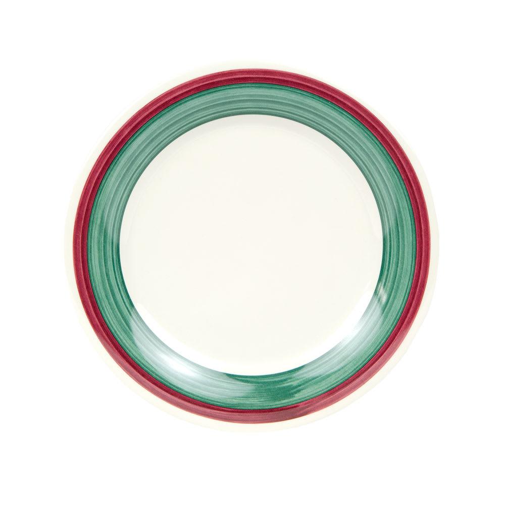 """GET WP-9-PO 9"""" Round Dinner Plate, Melamine, White"""